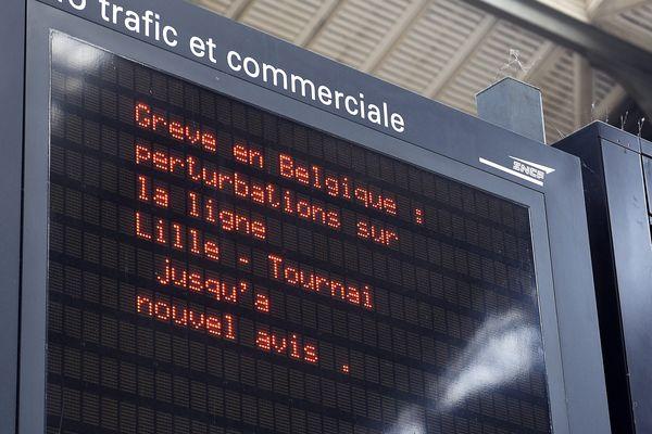Les cheminots belges doivent reprendre progressivement le travail à partir de ce samedi.