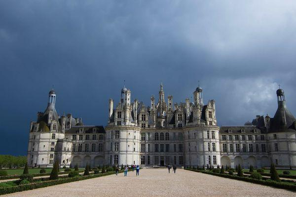 Le château de Chambord est peu impacté par l'épidémie de coronavirus.