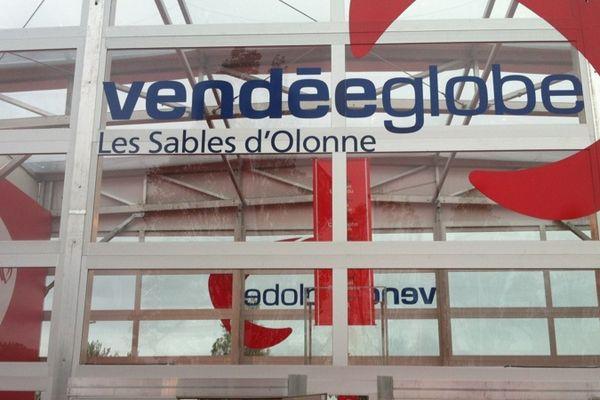 La façade du village du Vendée Globe 2012