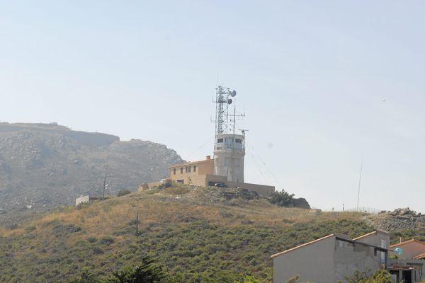Le phare du Cap Béar, où Djebril Amara a été affecté comme guetteur en 201-2014.