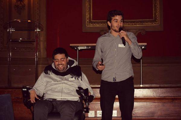Les deux co-fondateurs d'Andyamo: Marco Petitto et Sébastien Guillon