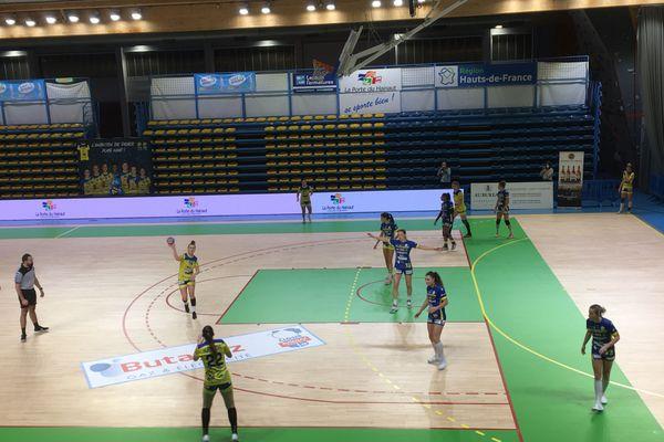 Les handballeuses de Saint-Amand se sont imposées devant Bourg-de-Péage dans une salle vide.