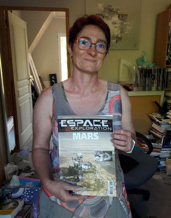Marie-Ange Sanguy est rédactrice en chef du magazine Espace et Exploration.