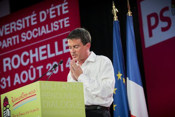 Comme l'an passé, Manuel Valls, le premier ministre sera présent à La Rochelle dimanche pour la clôture de l'université d'été.