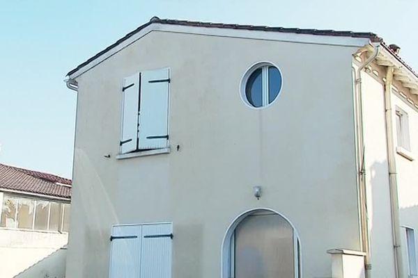La maison où a eu lieu le drame à Arvert