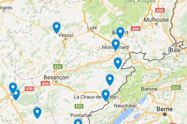 Les dix restaurants étoilés 2018 de Franche-Comté.