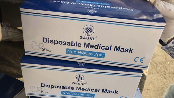 Des masques homologués par l'indispensable logo CE sur toutes les boîtes.