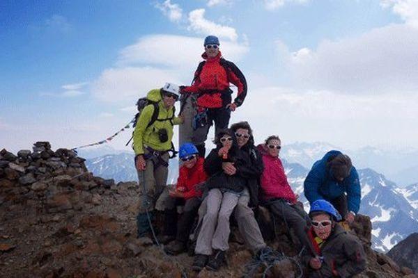 Au sommet du Vignemale