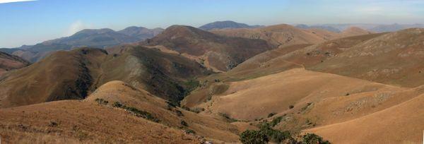 Les montagnes de Barberton (Afrique du Sud)