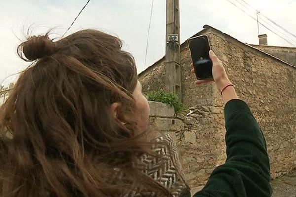 A Montaud, dans l'Hérault, des zones blanches subsistent encore, certains habitants n'ont toujours pas accès à la 3G - 25 novembre 2019