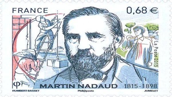 Timbre de Martin Nadaud