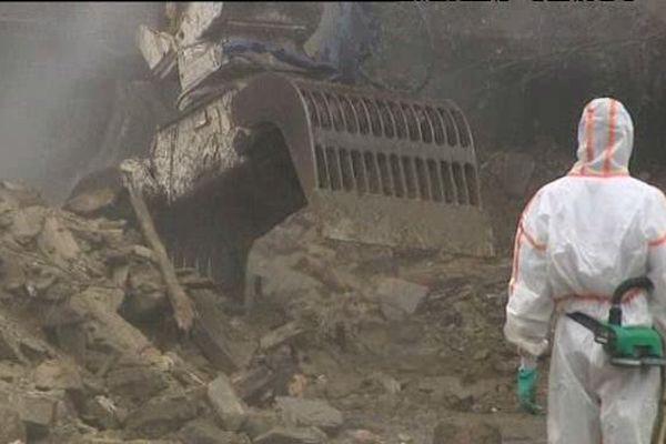 Le désamiantage de l'usine Ferodo de Caligny sur Orne, un chantier sous haute surveillance