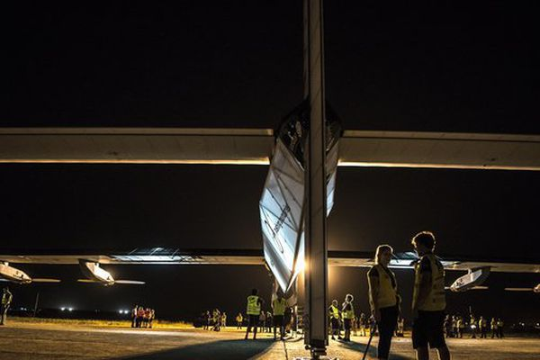 Réussissant sa première traversée de l'Atlantique, l'avion avait atterri à Séville le 23 juin.