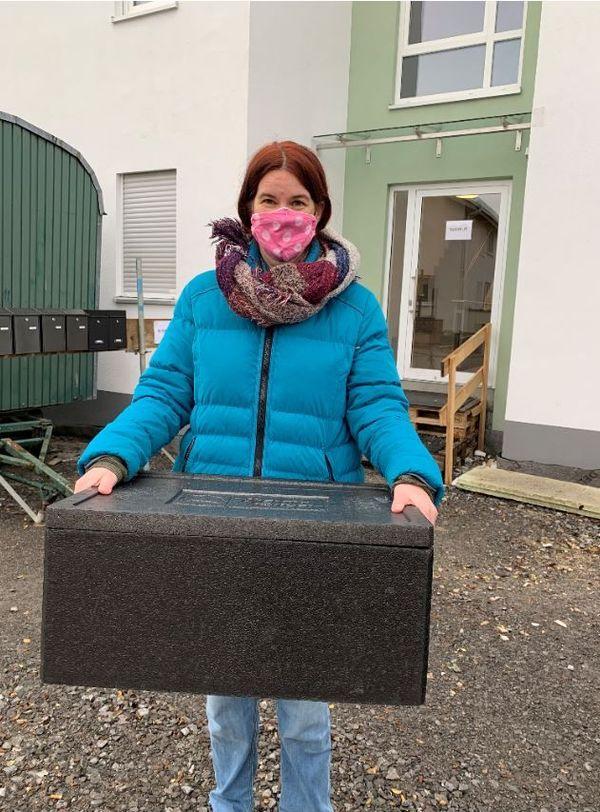 Vera Herberger est employée par la ville comme éducatrice spécialisée