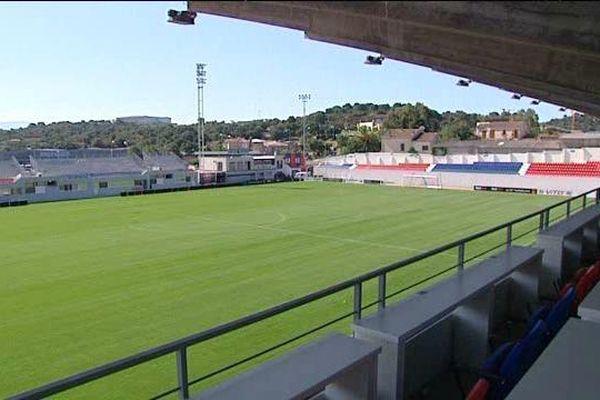 Le stade Ange Casanova a été homologué pour la Ligue 1 le 21 août 2015