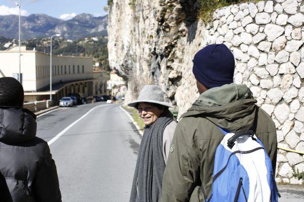 Michèle Rivasi, députée européenne Europe Ecologie Les Verts, s'était rendue au poste frontière en 2018, quand les parlementaires pouvaient encore y aller.