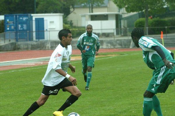 Riyad Mahrez en 2010 quand il jouait à Quimper