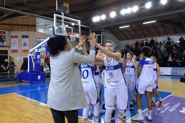 Les championnes de France se sont imposées face aux championnes de Turquie hier lors de la 9ème journée de l'Euroligue à Lattes- 18 janvier 2017