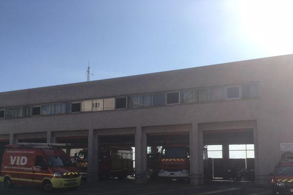 Caserne des pompiers de Bastia.