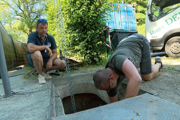 Le réseau d'alimentation en eau est sous surveillance constante.