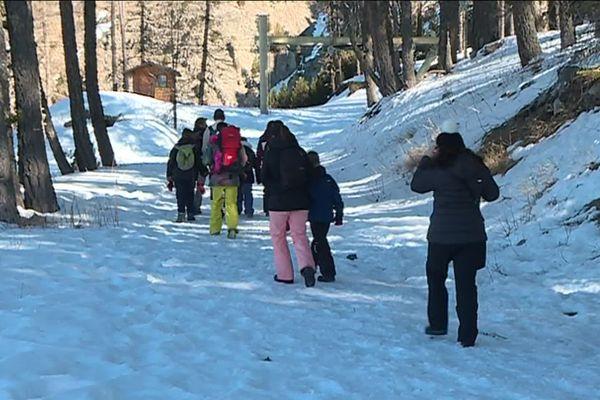 La station de ski de Montclar proposera de nouvelles activités pour un Noël sans remontées mécaniques.