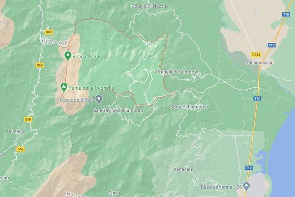 L'accident s'est produit dans une forêt de la commune d'Isolaccio-Di-Fiumorbo.