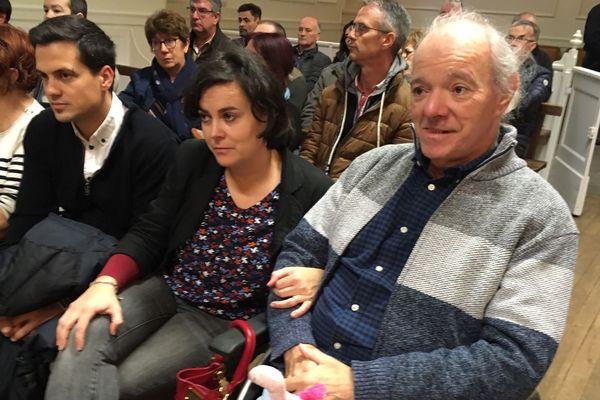 La victime Jean-Luc Aït-Mamaar accompagné de sa fille Jennifer.