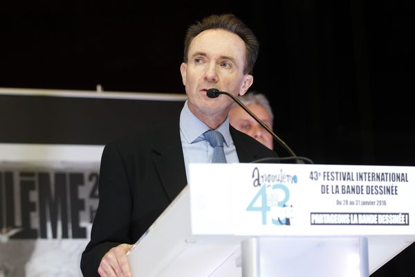 Franck Bondoux, directeur du FIBD d'Angoulême.