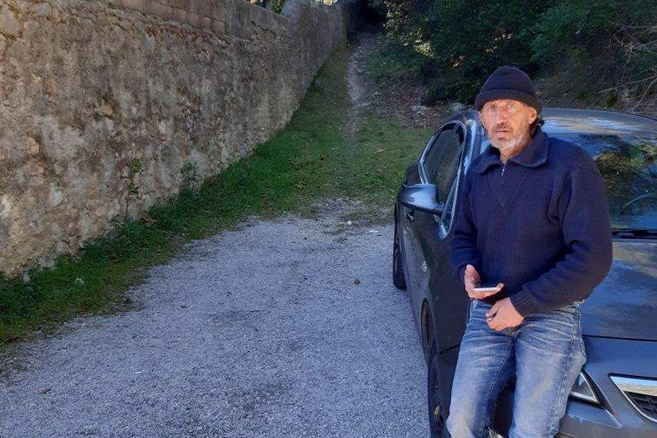 """Clapiers : """"Même avec de l'argent, si on n'a pas un CDI, des garanties, on n'a rien"""", Christophe, 54 ans, à la rue"""