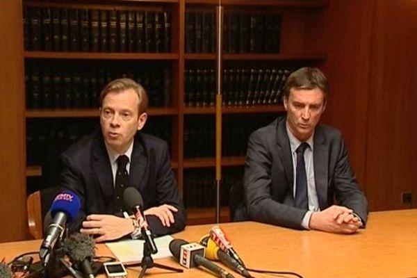 Le procureur de Pau, Jean-Christophe Muller