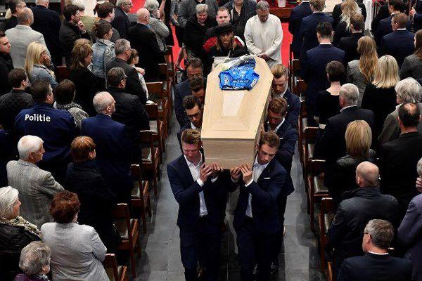 Les obsèques de Michael Goolaerts ont eu lieu ce mardi.
