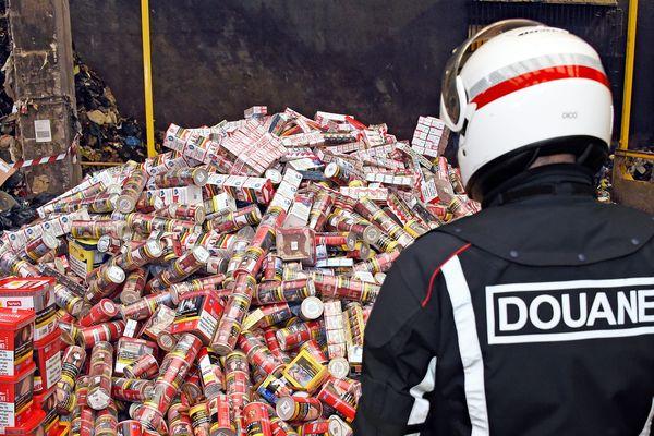 52 cartons de tabac interceptés près de Luxeuil.