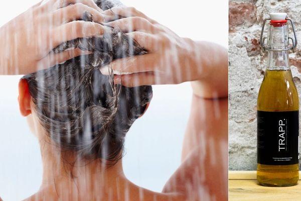 On peut désormais se laver les cheveux à la... Westmalle.