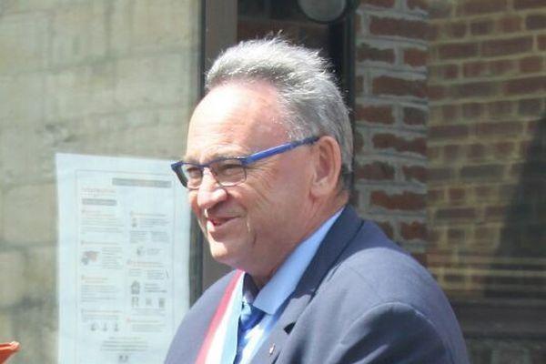 Daniel Blairon, maire de Quiévy, est mort du Covid-19 en octobre 2020.