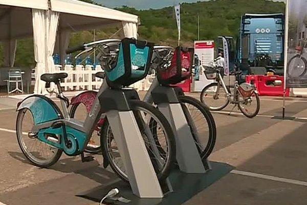 Un vélo électrique du groupe héraultais Smoove - 2017.