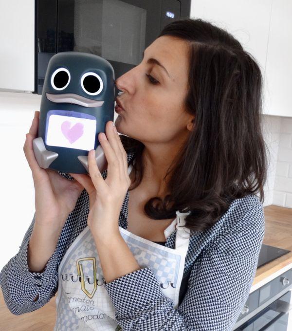 """Alexia Desporte Richard créatrice du canard et de l'appli """"Popotte Duck"""", une start-up lyonnaise"""