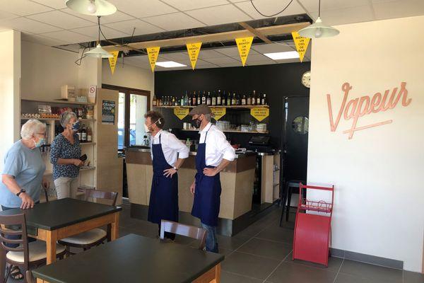 Le Bistro Vapeur va ouvrir ses portes le 15 septembre à Chainaz-les-Frasses.