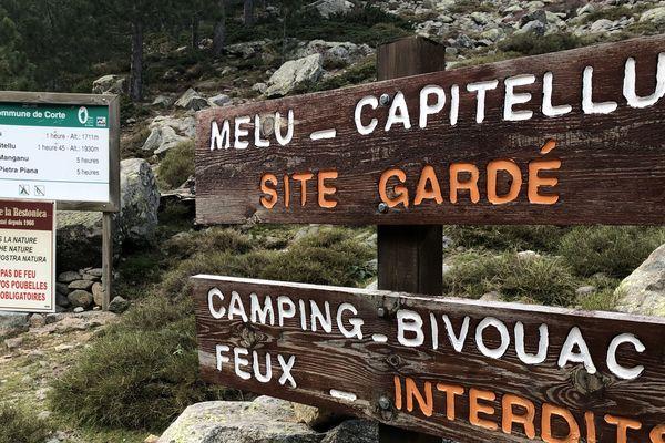 Les sentiers de randonnée, embouteillés l'été, qui traversent la vallée de la Restonica