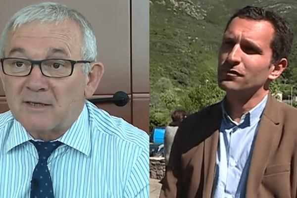 François Orlandi et Julien Morganti espèrent tous deux décrocher l'investiture Macron