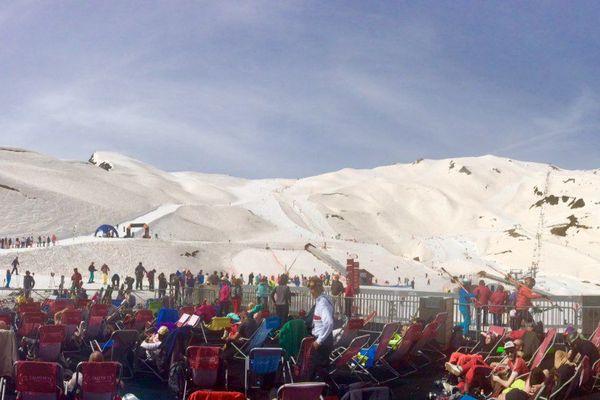 2 000 skieurs sont présents pour cette ultime journée de glisse.