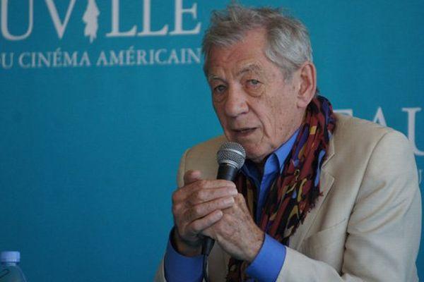 Le festival de Deauville rend hommage à Ian McKellen ce jeudi soir