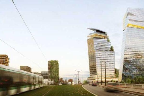 2 tours de 27 et 39 étages vont s'élever dans le 13e arrondissement