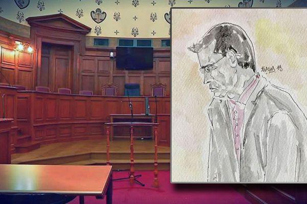 Evreux le 8 novembre 2019 : Dominique Hébert jugé par  la cour d'Assises de l'Eure