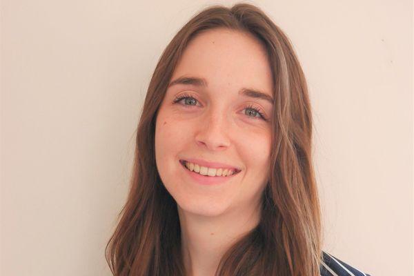 """Julie Brun-Berthet, 23 ans. """"Avec la crise sanitaire c'est vrai que j'ai revu mes critères"""""""