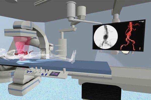 modélisation 3D de la salle ThérA-Image.