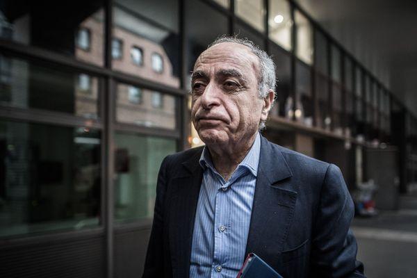 L'homme d'affaires franco-libanais, Ziad Takieddine, le 17 novembre 2016 à Nanterre.