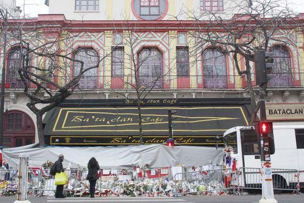 Le Bataclan, le 13 décembre 2015 à Paris