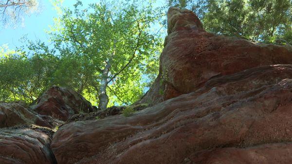 Le rocher des Païens.