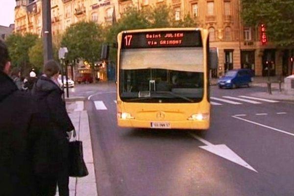 La ligne 17 des TCRM sera l'une des rares à ne pas être impactée par ce mouvement social de fin d'année 2012 à Metz