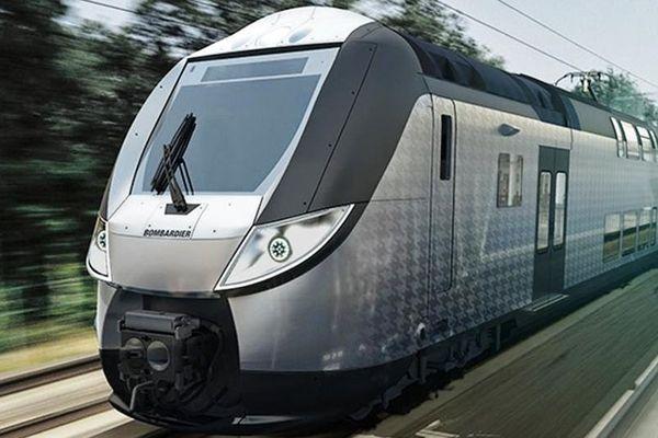 La Normandie va acheter 40 Omneo Premium à deux étages, des trains fabriqués par Bombardier